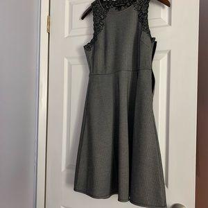 Banana Republic herringbone patterned dress